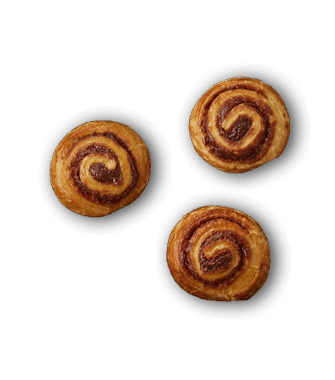 mini decadent cinnamon
